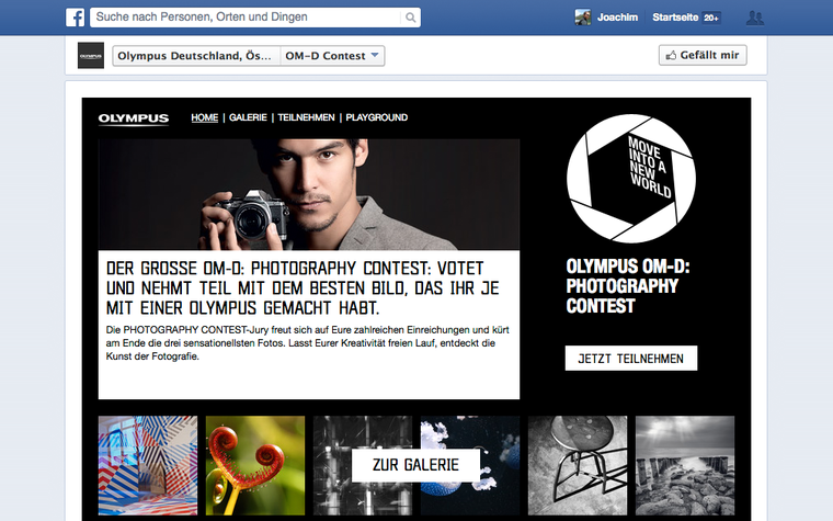 Facebook Foto-Contests