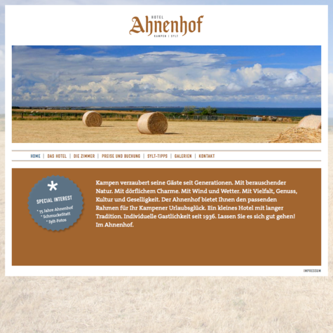 Neue Website für Traditionshotel